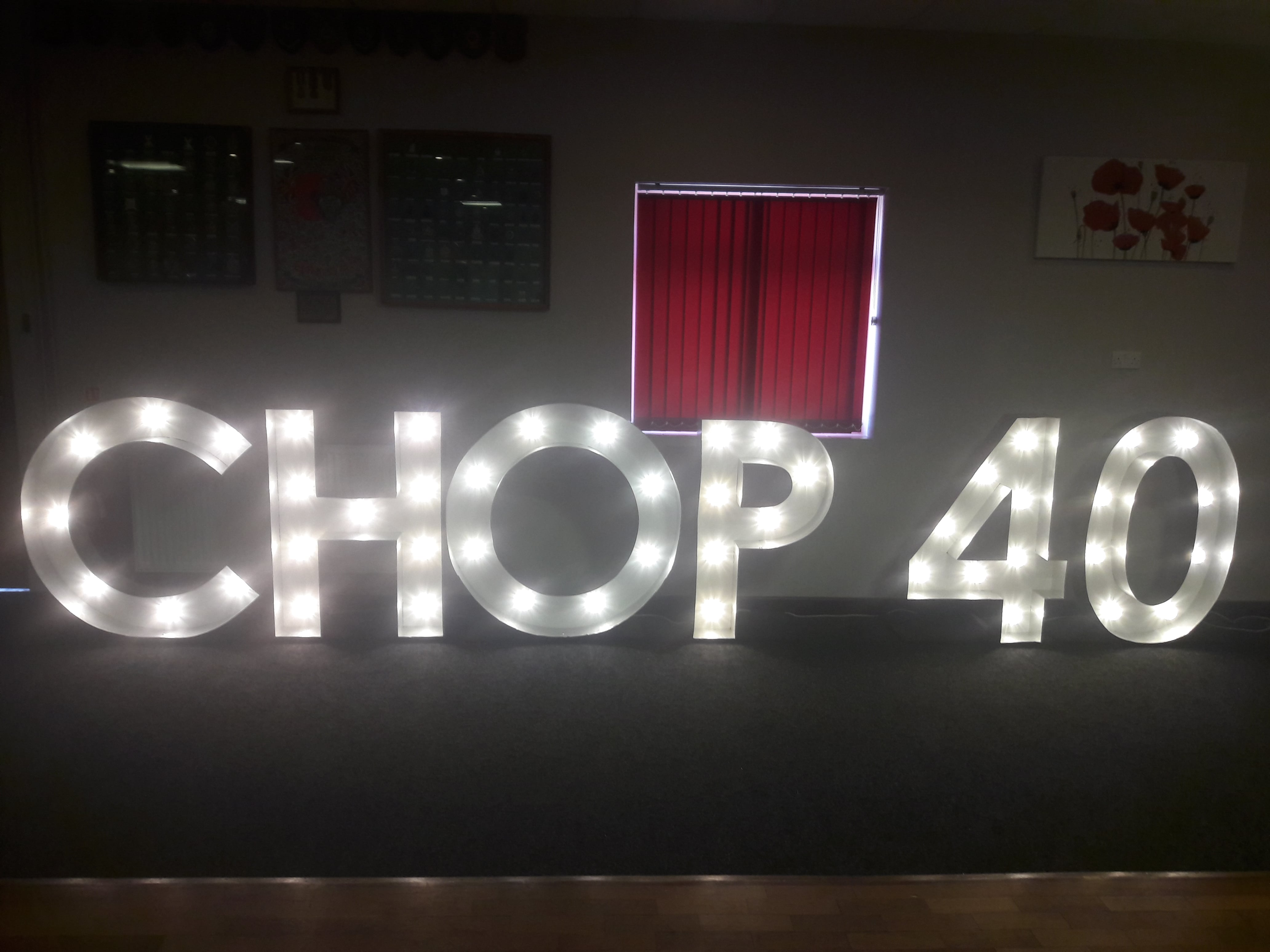 Light Up Letter Hire Phoenix Special Occasion Hire